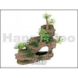 Dekorace TRIXIE - skála s rostlinami 19,5cm