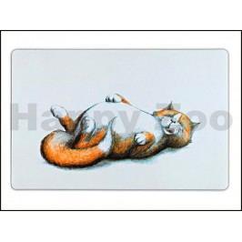 Prostírání TRIXIE - přecpaná ležící kočka 44x28cm