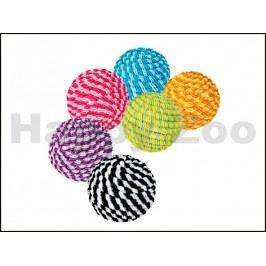 Hračka TRIXIE pro kočky - provazový míček 4,5cm (MIX BAREV)