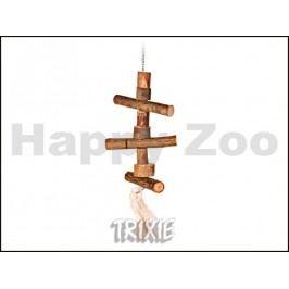 Závěsná hračka TRIXIE z přírodního dřeva 40cm