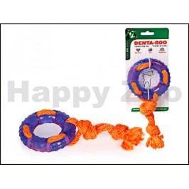 Hračka TOMMI guma - Denta Roo záchranný kruh 9,5cm (MIX BAREV)