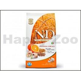 N&D Low Grain Dog Adult Mini Codfish & Orange 2,5kg