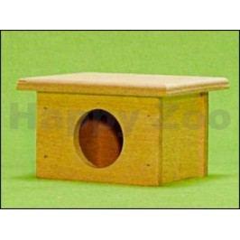 Dřevěný domek pro hlodavce 12x7x10cm