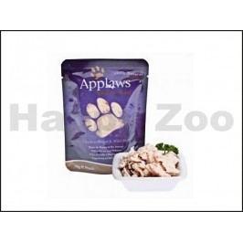 Kapsička APPLAWS Cat - kuřecí prsa a divoká rýže 70g