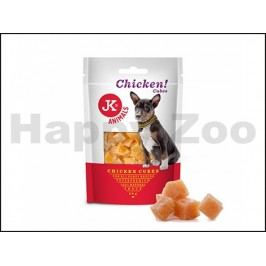 JK Dog Meat Snack - Chicken Cubes 50g