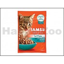 Kapsička IAMS Kitten Delights Chicken in Gravy 85g