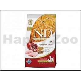 N&D Low Grain Dog Senior Small/Medium Chicken & Pomegranate 2,5k