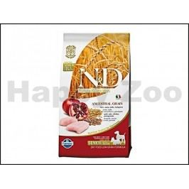 N&D Low Grain Dog Senior Small/Medium Chicken & Pomegranate 800g
