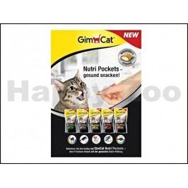GIMCAT Nutri Pockets - hovězí a maltóza 60g