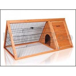 Dřevěná klec pro králíky TOMMI Roy 116x62x53cm