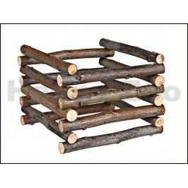 Dřevěný čtvercový seník TRIXIE 15x11x15cm
