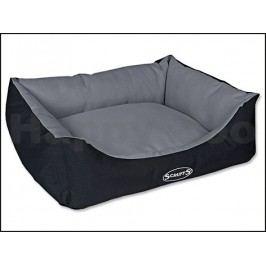 Pelech SCRUFFS Expedition Box Bed šedivý (M) 60x50cm