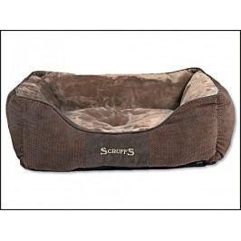 Pelech SCRUFFS Chester Box Bed čokoládový (M) 60x50cm