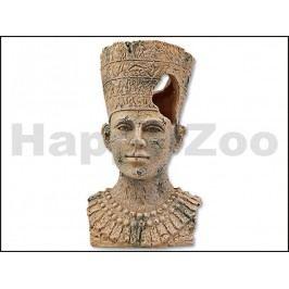 Dekorace AQUA EXCELLENT - egyptská socha 9,5x9,5x16,1cm