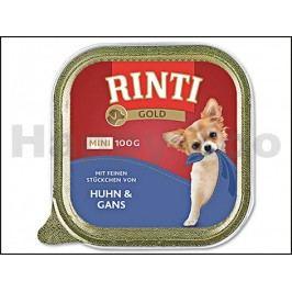Paštika RINTI Gold Mini - kuře a husa 100g
