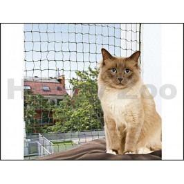 Ochranná síť zelená TRIXIE pro kočky 6x3m (tkaný drát)
