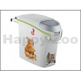 CURVER plastový barel na krmivo pro kočku 6kg