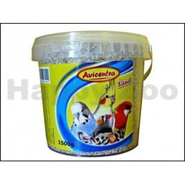 AVICENTRA písek s mušlemi pro ptáky 1,5kg (vědro)