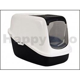 Toaleta SAVIC Nestor černá 56x39x38,5cm