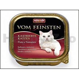 Paštika VOM FEINSTEN Castrate krůtí a rajčata 100g (kočka)