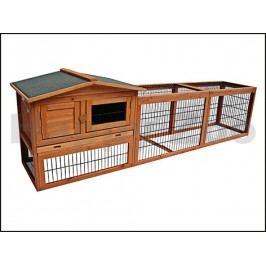 Dřevěná klec pro králíky KARLIE-FLAMINGO Sunshine Jumbo 230x53x7