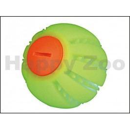 Hračka TRIXIE guma - žlutý svítící silikonový míček 6cm (s napáj