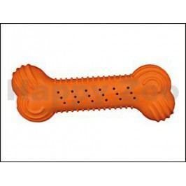 Hračka TRIXIE guma - chrastící kost 18cm (MIX BAREV)
