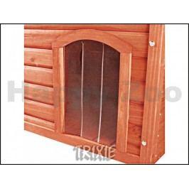 Plastová dvířka k boudě pro psa TRIXIE Natura hnědé (XL) 34x52cm