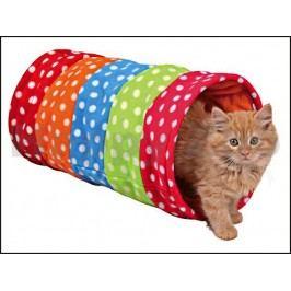 Tunel pro kočky TRIXIE barevný 25x50cm