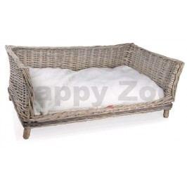 Proutěné kanape TOMMI Provence 90x54x35cm