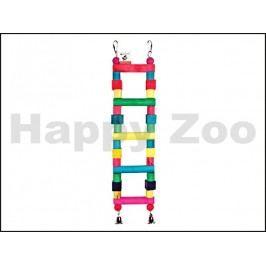 Hračka pro ptáky TOMMI - tvarovací žebřík se zvonky 54x15cm