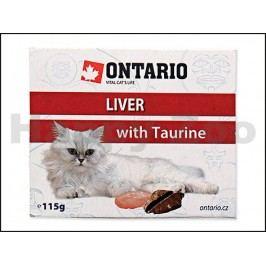 Paštika ONTARIO Cat Liver with Taurine 115g