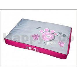 Matrace ROGZ Spice Pod - Pink Paws (XL) 129x86x12cm