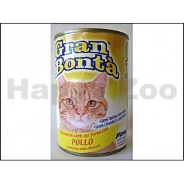 Konzerva GRAN BONTA pro kočky s kuřecím masem 400g