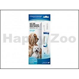 FRANCODEX Dental Kit zubní pasta 70g + kartáček pro psy