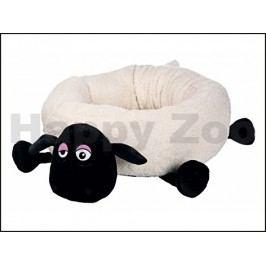 Pelech TRIXIE Ovečka Shaun kulatý s hlavou a packami krémový 50c