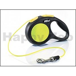 FLEXI New Neon Cord (XS) (do 8kg, 3m lanko)