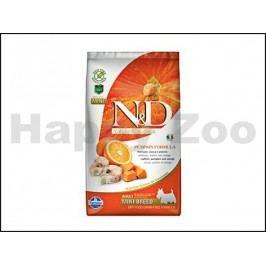 N&D Grain Free Pumpkin Dog Adult Mini Codfish & Orange 2,5kg