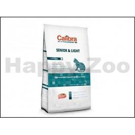 CALIBRA Cat Hypoallergenic Senior & Light Turkey & Rice 7kg