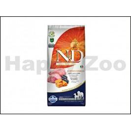 N&D Grain Free Pumpkin Dog Adult Medium/Maxi Lamb & Blueberry 12