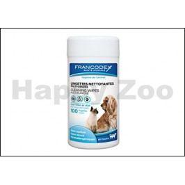 FRANCODEX ubrousky víceúčelové pro psy a kočky (100ks)