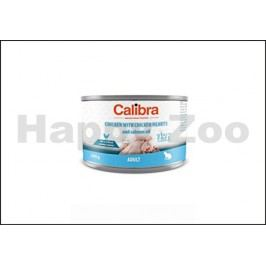 Konzerva CALIBRA Cat Adult Chicken with Chicken Hearts and Salmo