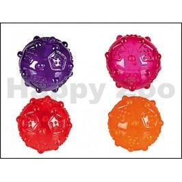Hračka TRIXIE guma TPR - míček s výstupky 8cm (MIX BAREV)