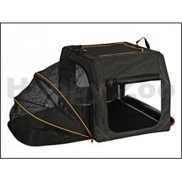 Transportní nylonový box TRIXIE Extend černooranžový (S-M) 68x47