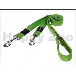 Vodítko přepínací ROGZ Utility HLM 14 L-Lime (S) 1,1x110-130-180