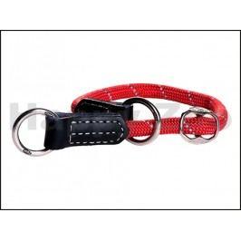 Obojek stahovací ROGZ Rope HBR 0940 C-Red (M) 0,9x35-40cm
