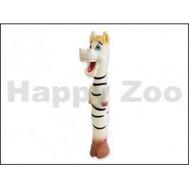Hračka DOG FANTASY latex - dlouhé zvířátko se zvukem 30cm (MIX B