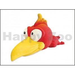 Hračka DOG FANTASY latex - pták s velkou hlavou a se zvukem 18cm