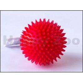 Hračka SALAČ vinyl - míček s bodlinami červený 9cm