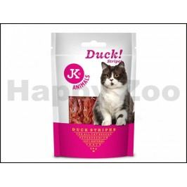 JK Cat Meat Snack - Duck Strips 50g